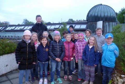 Die Klasse 2a der Grundschule Hauzenberg im Mai 2016
