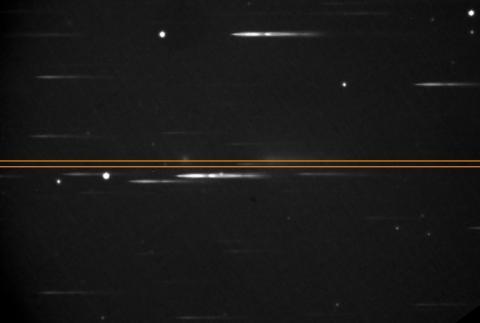 Spektralaufnahme erstellt mit Star-Analyser 100